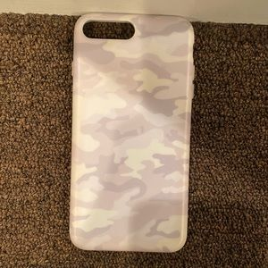 Velvet Caviar white clouds iPhone 8 Plus case